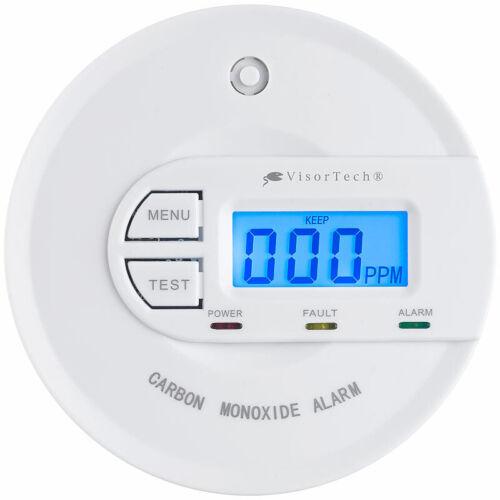 Kohlenmonoxid-Melder mit 10-Jahres-Sensor /& Display CO Melder EN 50291 85 dB