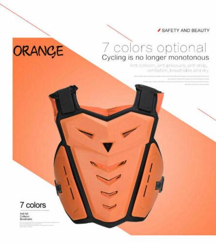 Motorcycle Body Armor Vest Jacket Chest Bike Protector Motocross Gear Guard