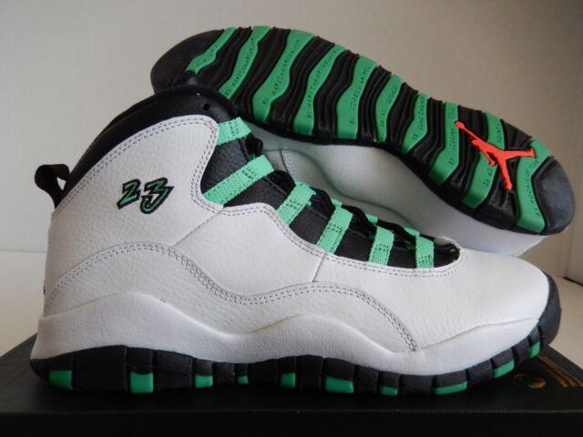 318a2d8cc49 Buy Air Jordan 10 Retro 30th White Green Black Infrared GS Big Kids ...