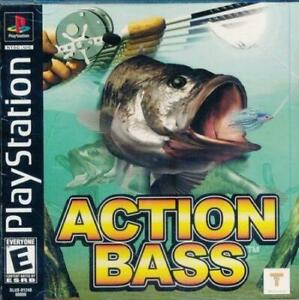 Action-Bass-Playstation-1-Game-PS1-Used