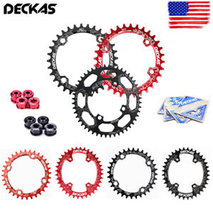 DECKAS-BCD104mm-MTB-Bike-Chainring-Narrow-Wide-Round-Oval-Chainwheel-32-52t