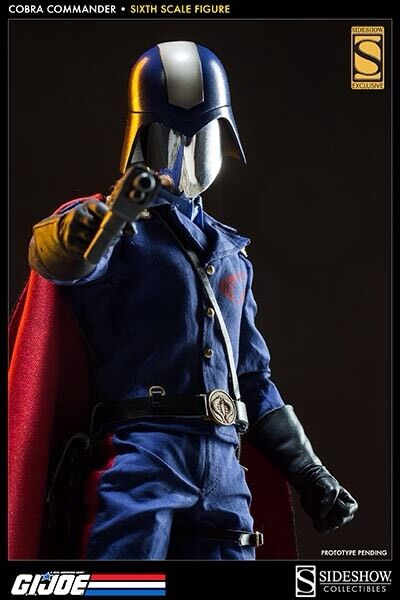 Sideshow Coleccionables Cobra Commander exclusivo Gi Joe dictador