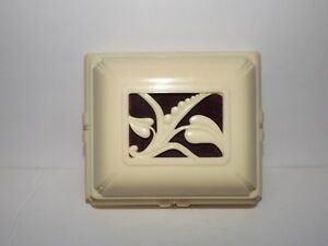 Vtg Celluloid Art Deco Jewelry Watch Box Religious Box Jesus Mary Joseph Figures Jewelry & Watches Boxes