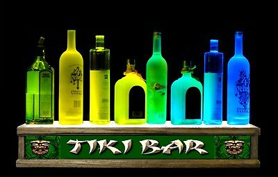 2/' LED bottle display shot glass bar display TIKI bar sign LED REMOTE CONTROL