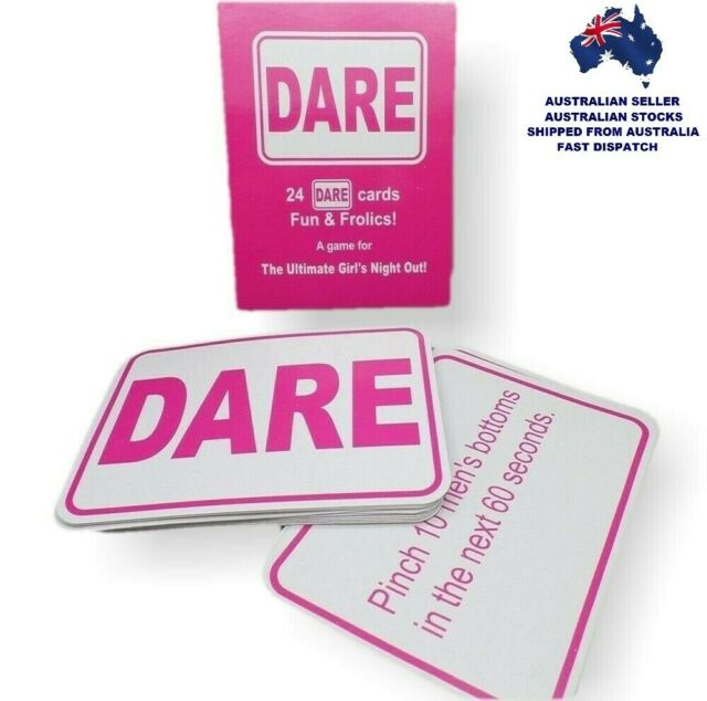 "24 X /"" WILLY SAY/'S /"" GIRLS NIGHT OUT Paper DARE CARDS NAUGHTY FUN GAME HEN PARTY"