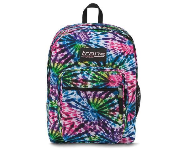 Trans By Jansport 17 Quot Supermax Backpack Tie Dye Swirls