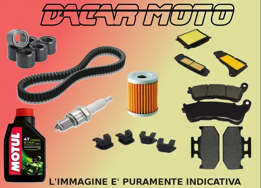 Kit Servicio Yamaha YP Majesty 400 2009 2010 2011 ABS Texto Tu Su Propio Kit