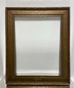 VTG-Arts-Crafts-Art-Deco-Mid-Century-Wood-Picture-Frame-Fits-15-034-x-19-034