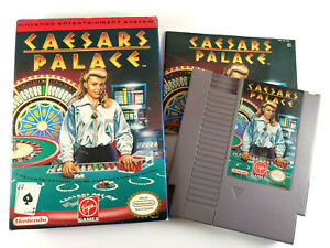 Caesars Palace (Nintendo Entertainment System,1992) w/ Box-Cart-Manual