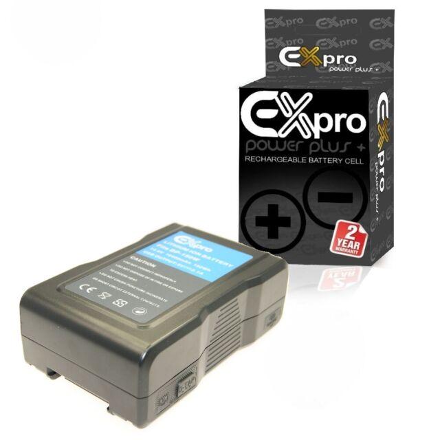 LED Light Panel Studio Battery BP-150W 10400mAh V Lock V-Mount Rechargeable