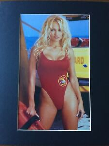 Various Sizes Baywatch Grunge Art Box Canvas: Pamela Anderson 003