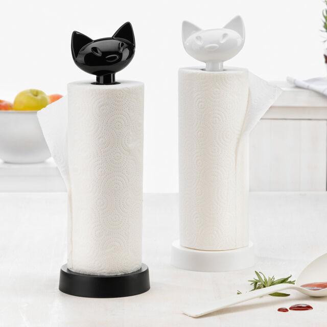 Koziol Küchenrollenhalter Miaou Kunststoff NEU + OVP