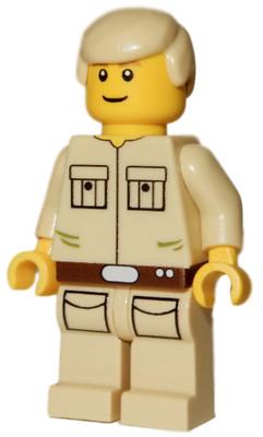 Star Wars Minifigure CLOUD CITY CAR PILOT **NEW** LEGO Custom Printed