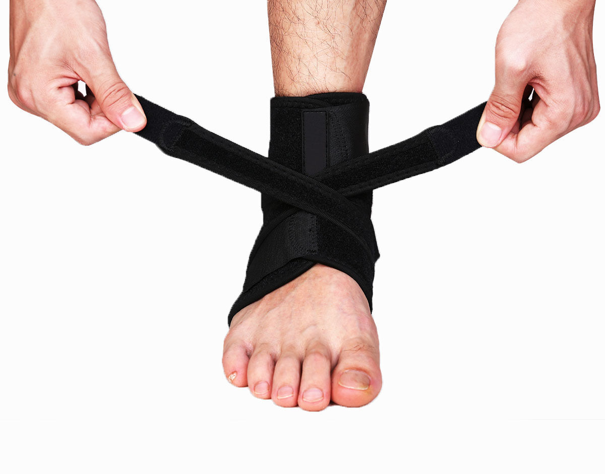 Ankle Brace Ankle Support Socking Compression Sport Injury Protective Guard US D 9