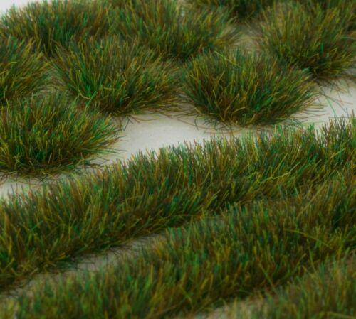 WWS 6mm Autumn Self-Adhesive Static Grass Tufts//Strips Mix Railroad Warhammer