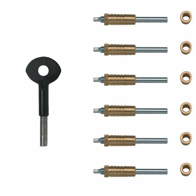 Pack of 6 Yale Locks P6P119 Sash Window Bolts