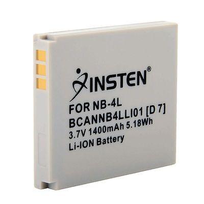 3.7V Premium Li-Ion 2X Bateria Pack Nuevo Para Canon Nb-4L Nb4L Nb-4Lh