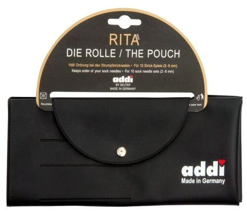"""Addi /""""Rita la bolsa/"""" Caja de almacenamiento para DPN 10 Conjuntos de agujas de doble punta"""