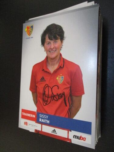 68632 Sissy Raith Damen FC Basel original signierte Autogrammkarte