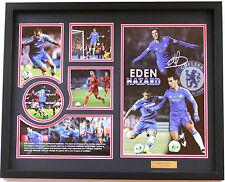 New Eden Hazard Signed Chelsea Limited Edition Memorabilia
