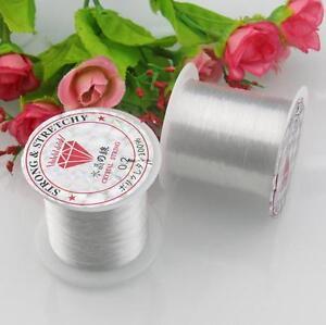 0.2-0.8mm Nylon Clair Beading Wire Fil Cordon Pêche Fil Monofilament-afficher Le Titre D'origine