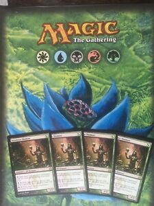 PLAYSET-TOP-PREMIUM-DELUXE-THE-BEST-CARDS-MAGIC-GATHERING-DEATHRITE-SHAMAN-X4