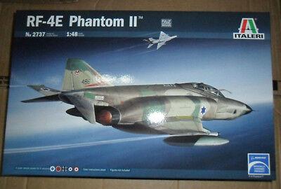 2737  RF-4E PHANTOM II   ITALERI 1/48 plastic model kit
