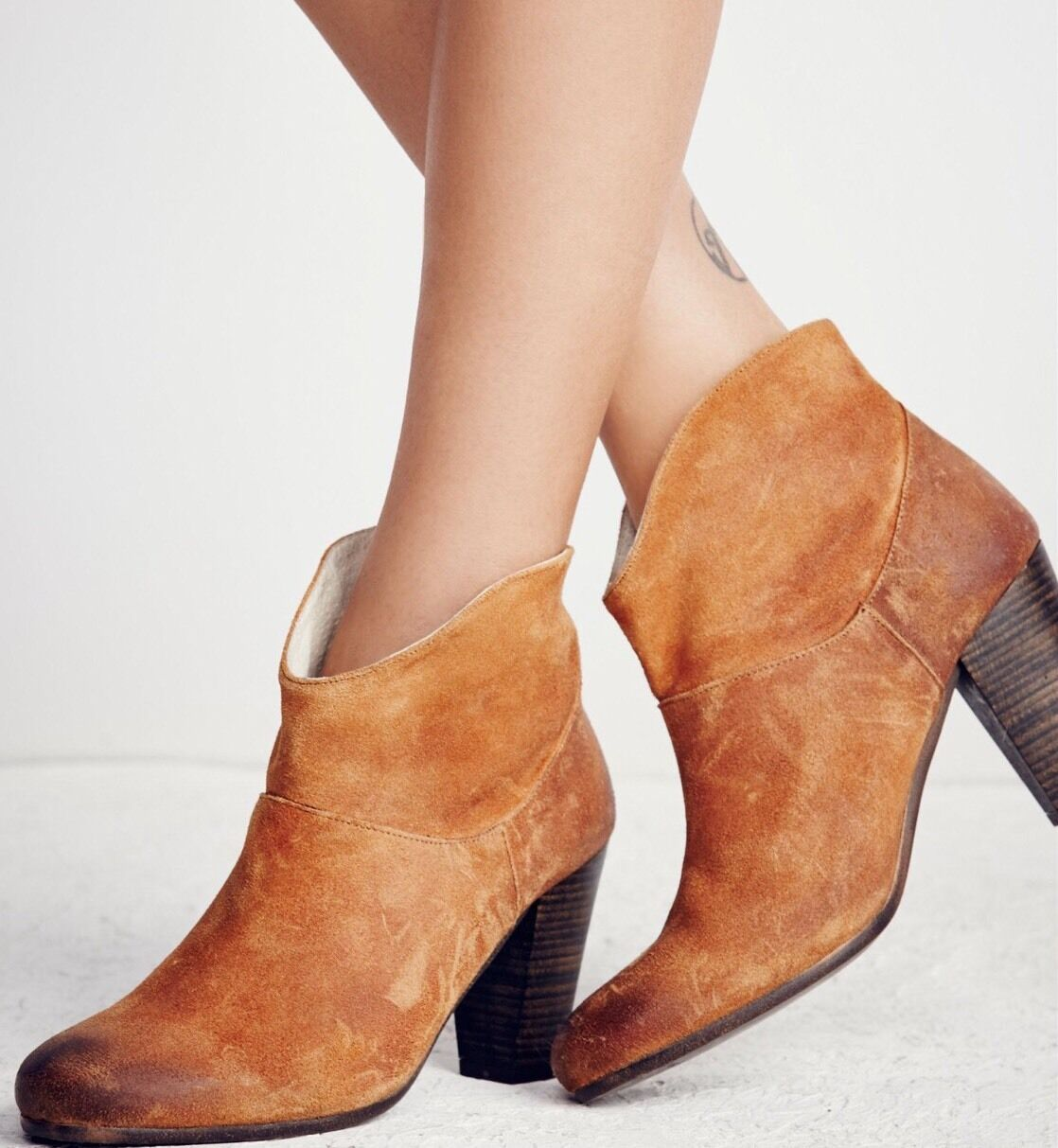 NEW Jeffrey Campbell Westmont Heel Boots Size 36 37