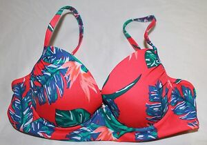 c0371dea8e Details about Womens Two Piece Roxy HAWAIIAN FLORAL PRINT Bikini Set size  s/M