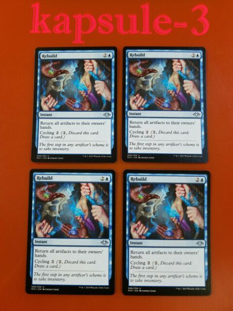4x rebuild  modern horizons  mtg magic cards  ebay