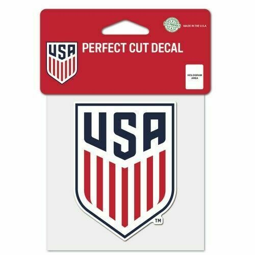 WinCraft U.S.A Womens Soccer National Team Die Cut Decal 4 x 4