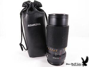 Asanuma-Auto-Zoom-1-3-8f-70mm-150mm-Telephoto-Lens-w-Hoya-55mm-UV-Sky-Filter