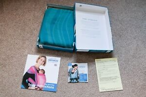 Didymos Woven Baby Wrap Sling Size 4 Aqua Waves Ebay