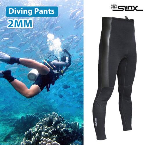 SLINX 2MM Warm Neoprene Scuba Surfing Diving Snorkeling Pants Wetsuit Trousers