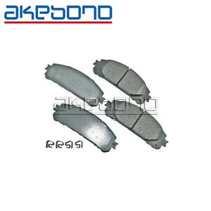 For Toyota Pro-ACT Ultra-Premium Ceramic Disc Brake Pads Rear AKEBONO ACT606