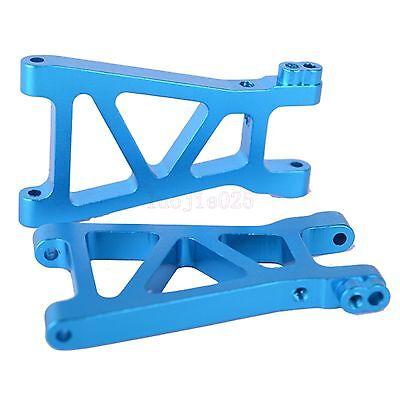 Front & Rear Lower Suspension Arm For HIMOTO RC 1/18 Car E18XBL Parts Blue M606