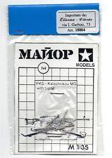 MAJOR MODELS (ELISENA) N°4 - PKS KALASHNIKOV MG WITH TRIPOD - 1/35 WHITE METAL