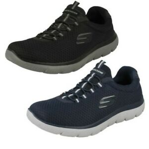 Details about Mens Skechers Casual Trainers Summits 52811