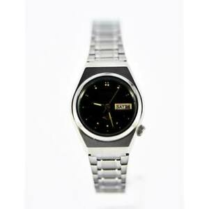 Citizen-Classic-Automatic-Ladies-039-Stainless-Strap-Watch-PD2460-62E