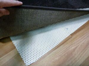 Image Is Loading 5mm Thick Underlay Rug Pad Total Stop Rugs