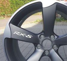 6x Mazda RX-8  Aufkleber für Leichtmetallfelgen Räder Emblem Logo