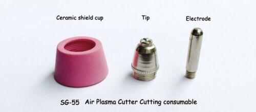 50Ri 25Pcs PLASMA CUTTER 50 SG-55 AG-60 Cut TIPS for 50RX 50DX 5200D 5200