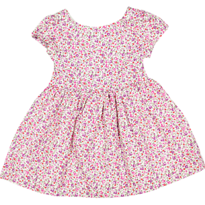 RALPH LAUREN baby girls pink floral DRESS /& PANTIES SET 3//6M 6//9M 9//12M