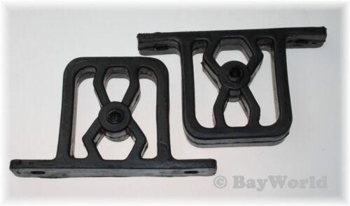 2 St Auspuff Gummi Hänger Anschlagpuffer Muffler hanger rubber 255-070 BMW 3er