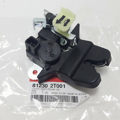 Genuine Kia 81230-2T001 Trunk Lid Latch Assembly