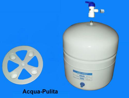 Serbatoio Tanica di Accumulo per Depuratore Osmosi Inversa 12 Litri Rubinetto