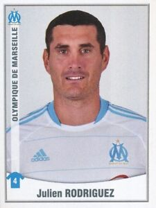 246-JULIEN-RODRIGUEZ-OLYMPIQUE-MARSEILLE-OM-RANGERS-FC-STICKER-FOOT-2011-PANINI