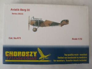 Choroszy-Modelbud-1-72-Scale-Aviatik-Berg-DI-Resin-Kit-WWI-Fighter