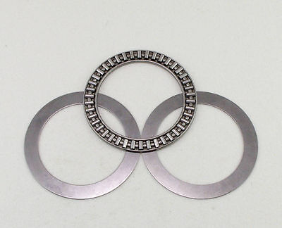 AXK2035+2AS Needle Roller Thrust Bearings with 2 Washers 20x35x4mm Bearing
