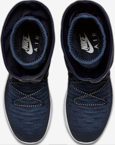 Two 861708 Roshe Hi mujer Negro Nike Flyknit 5 Bnib 400 marino Boots Reino para Unido y Wmns azul EZwt5wqxS